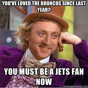 Bahaha! I'm defiantly not a jets fan just a Tebow fan:)