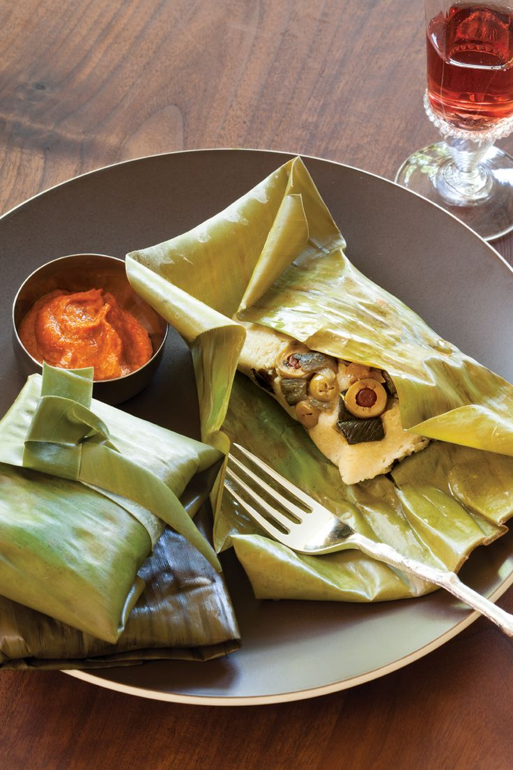 Tamales, Recipe for tamales and Banana leaves on Pinterest
