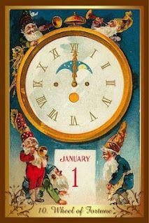 Перекрестки Таро - таролог Лина Айн: Карта-совет от колоды  Christmas tarot - Колесо Фо...