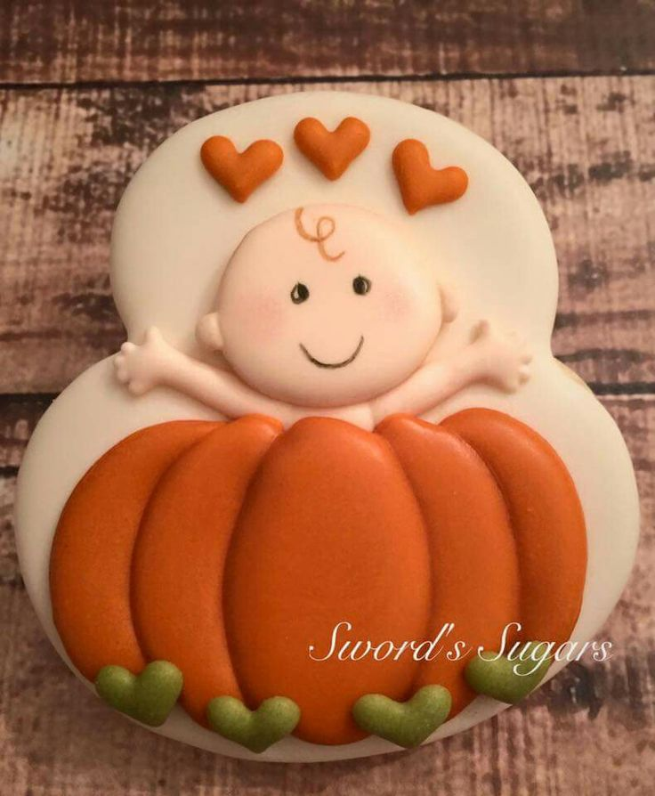 Sword's Sugars: Baby in a Pumpkin. Fall. Baby shower. Babies.