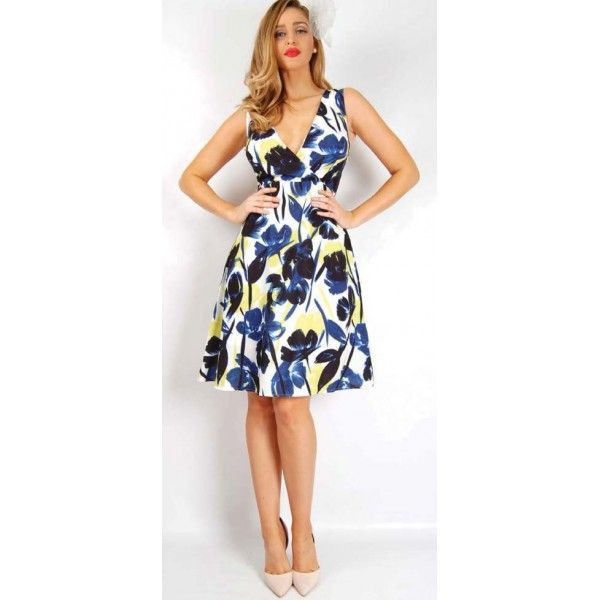 Aloura Arty Floral Day Dress