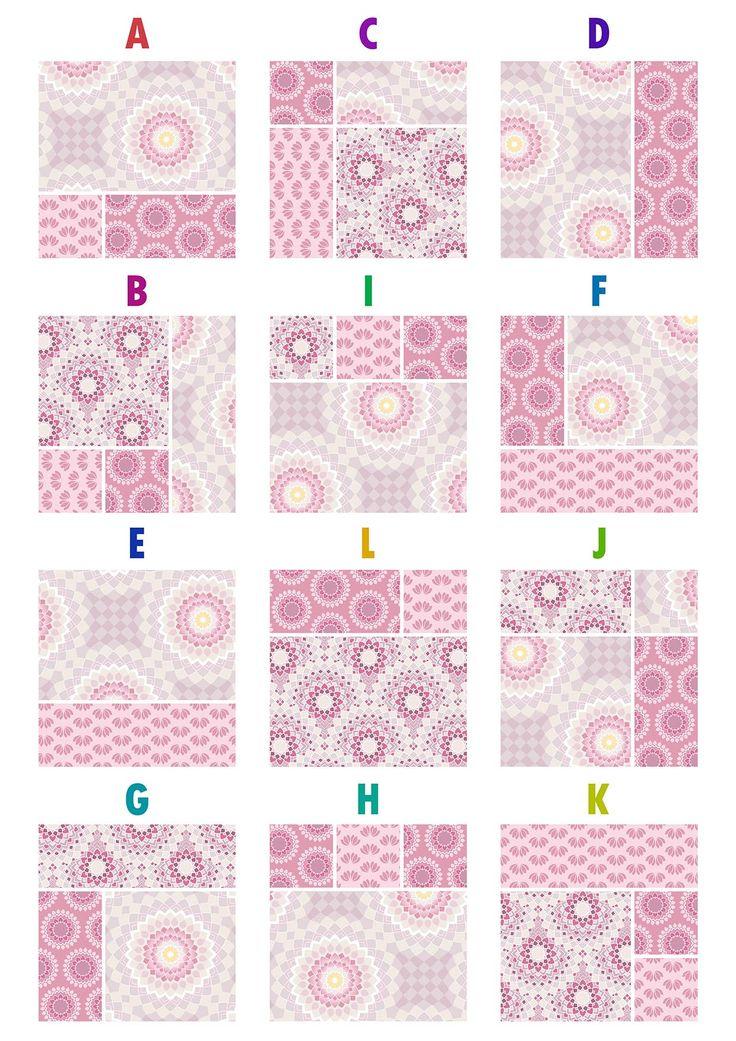 Lotus Quilt blocks