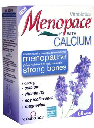 Vitabiotics Menopace with Calcium 60 Tablets Menopace with Calcium 60 Tablets: Express Chemist offer fast delivery and friendly, reliable service. Buy Menopace with Calcium 60 Tablets online from Express Chemist today! (Barcode EAN=5021265221226 http://www.MightGet.com/january-2017-11/vitabiotics-menopace-with-calcium-60-tablets.asp