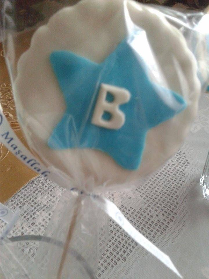 Benjamin için özel butik sünnet kurabiyeleri