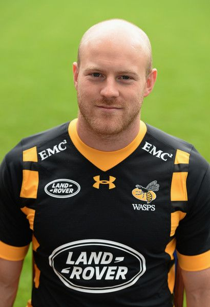 Joe Simpson Photos - Joe Simpson poses for a portrait during the Wasps squad photocall for the 2016-2017 Aviva Premiership Rugby season on August 17, 2016 in Coventry, England. - Wasps Photocall