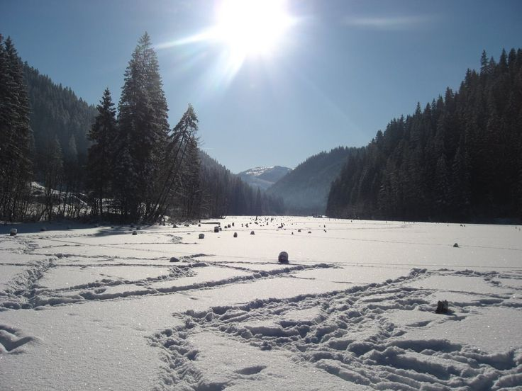Red Lake in winter