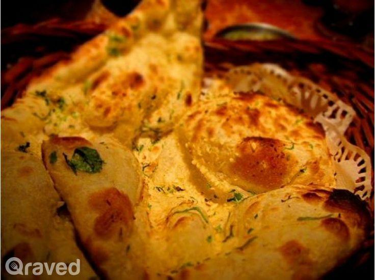 Lasuni Naan Bread at Hazara Restaurant