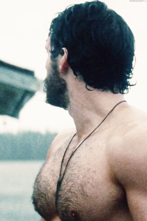 Can I please touch your beautiful chest or any other part of you, Mr. Cavill? Lol!! ;)