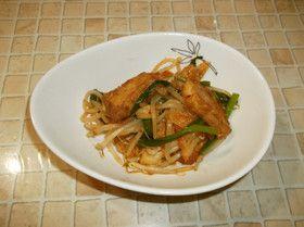 厚揚げのキムチ炒め by さくっちゅ [クックパッド] 簡単おいしいみんなのレシピが252万品