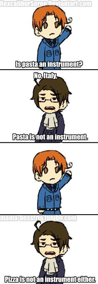 I think it's impossible to watch SpongeBob without thinking about Hetalia.