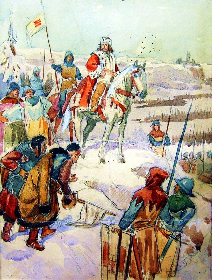 Obraz Jan Žižka je jedním z nejznámějších děl Mikoláše Alše