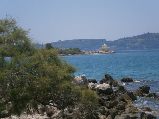 Fanari,Argostoli,Kefalonia,Greece  A day at the beach.