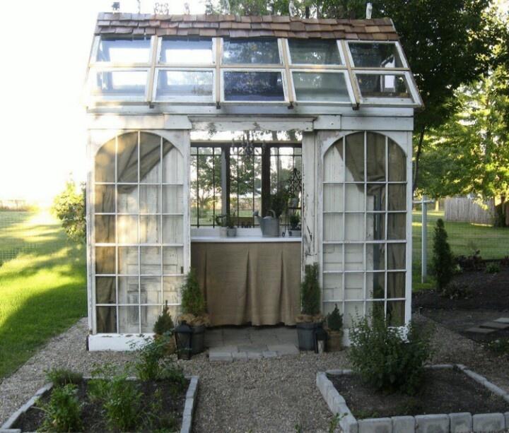 Old window greenhouse glass windows mirrors doors for Reclaimed window greenhouse
