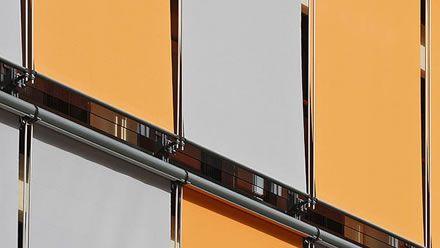 Estor enrollable vertical de exterior : Estores KAMP