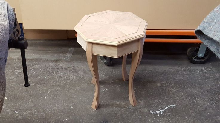 Student project; Fall Woodworking class,  an Octagon table