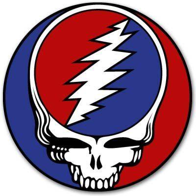 "4"" Grateful Dead Dead Head  Vynil Car Sticker Decal - Wall Decal - Rock Band Stickers - Metal Band Stickers - Music Band Stickers"