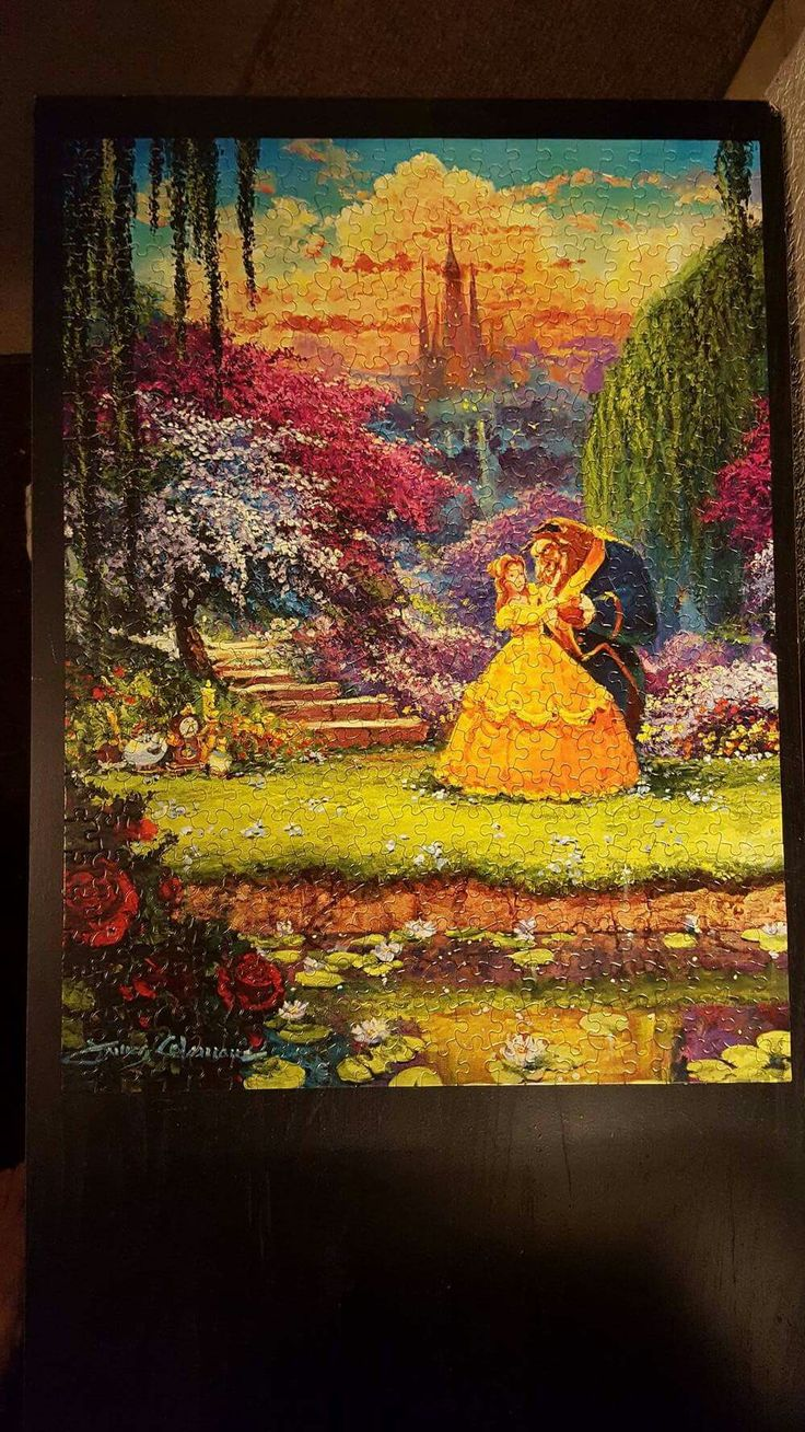 Beauty and The Beast Puzzle 550 Beautiful Jigsaw