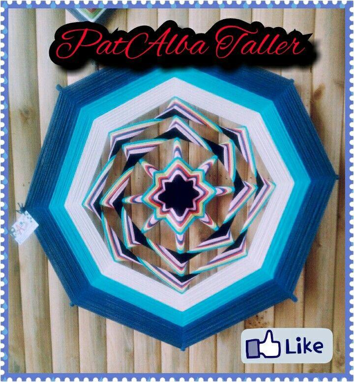 #PatAlbaTaller #mandalas #tejidos #energiaspositivas #metro #artesania #diseñodeautor #emprendedora  Mi remolino ✌