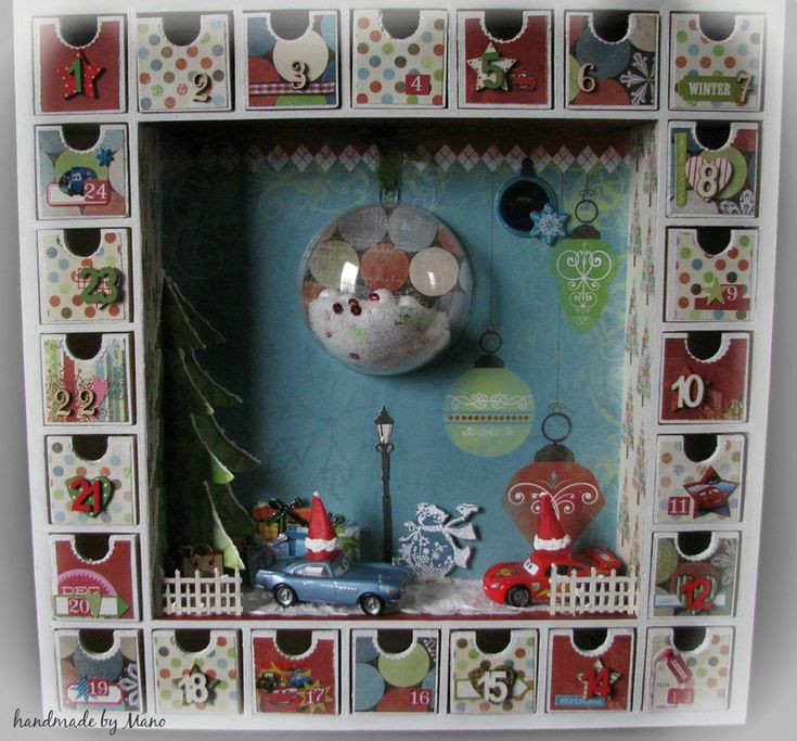 17 best images about calendrier de l 39 avent on pinterest - Calendrier avent sapin bois ...