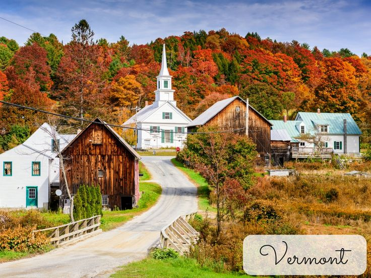 Vermont is one of the top destinations to take a fall foliage tour and see the changing of the leaves! Every fall the trees turn brilliant shades of gold, orange and blazing red, turning this already scenic state into a breathtaking experience. In between the photo opportunities, take the time to sample the famous Vermont cheddar, go mountain biking or maybe even splurge with a scoop of ice cream from another local treasure, Ben & Jerry's.