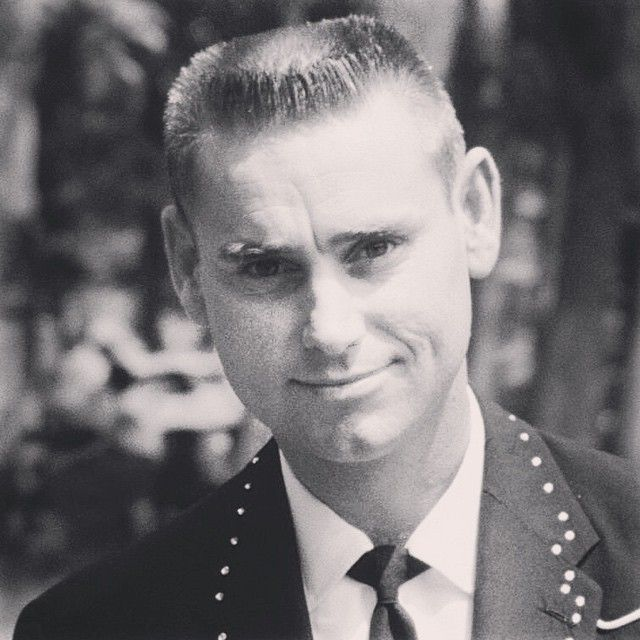Vintage Flattop Haircut Young George Jones Classic