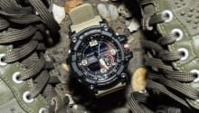 Full wrist-time review with video & original photos of the Casio G-Shock GWG 1000-1A3 Mudmaster watch including price & specs.