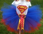 Cute little super woman costume