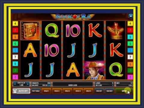 Видео обзор игрового автомата Книжки Book of Ra
