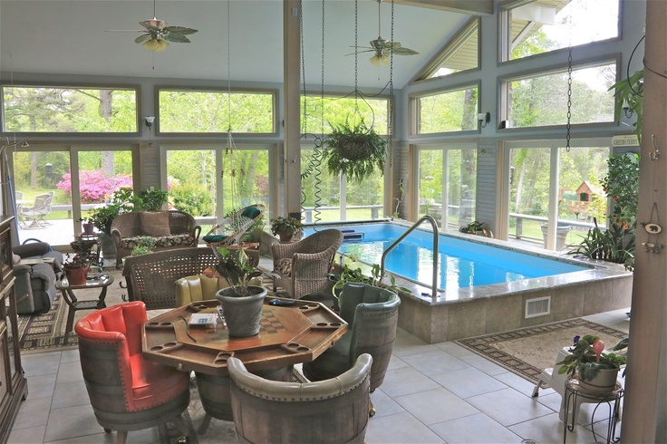 1000 images about swim spas on pinterest endless pools for Greenhouse over swimming pool