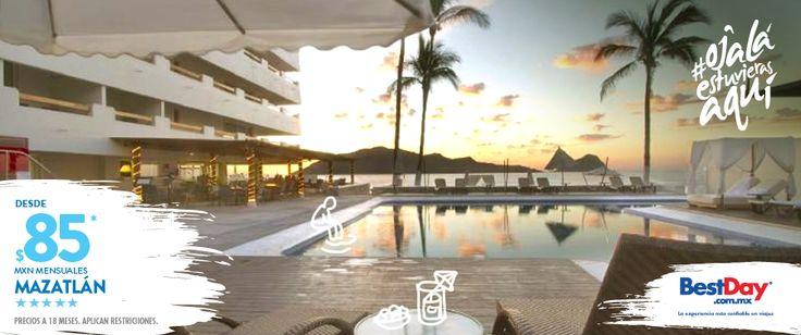 Emporio Mazatlán localizado en la Zona Dorada de #Mazatlan con fácil acceso a lugares de entretenimiento y tiendas comerciales, y a sólo diez minutos del centro histórico. Esta propiedad se compone de dos edificios y ofrece entretenimiento para toda la familia, así como instalaciones para la organización de eventos sociales y de negocios. Igualmente tiene un programa con actividades infantiles supervisadas y sus restaurantes ofrecen cocina mexicana e internacional. #BestDay…