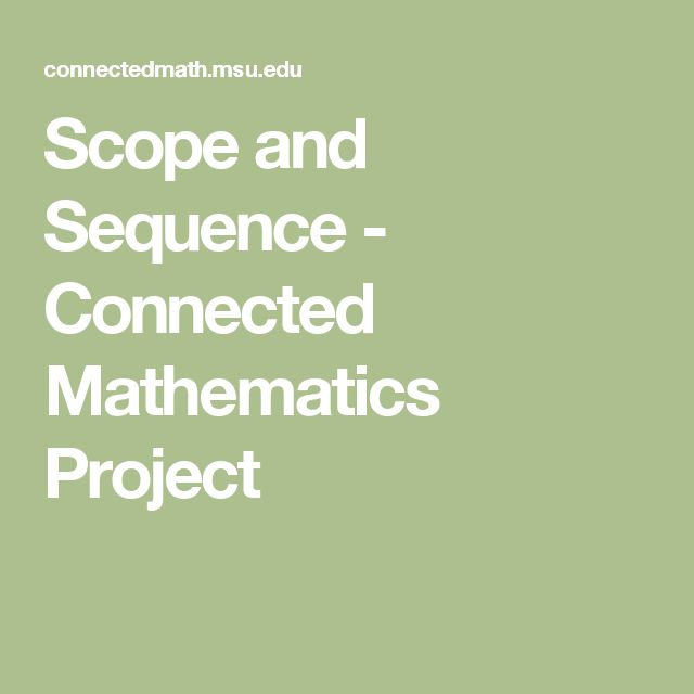 28 best homeschool math images on pinterest homeschool math scope and sequence connected mathematics project fandeluxe Gallery