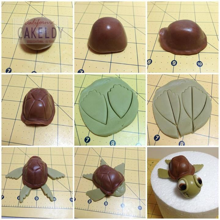 how to make nemo out of fondant
