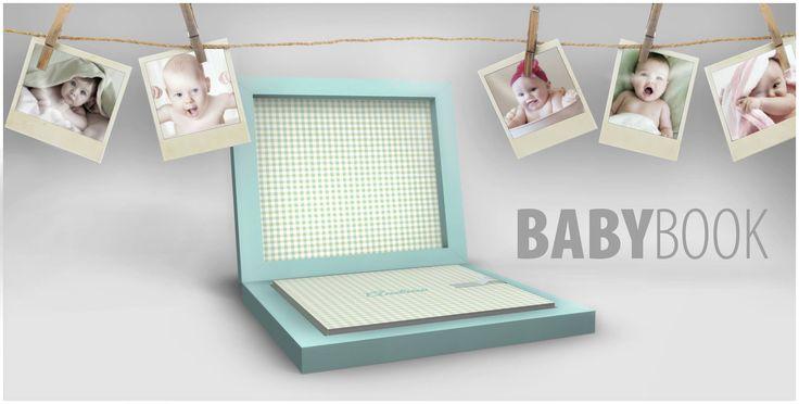 BABY BOOK, per racchiudere tutte le immagini e le grandi emozioni dei primi giorni insieme. Un prodotto nuovissimo e di eccezionale qualità! Il Baby Book è un prodotto Graphistudio, perfetto connubio tra tecnologia ed innovazione per un prodotto rilegato a mano e orgogliosamente Made in Italy! www.graphistudio.com