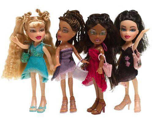 lil bratz doll lil bratz gift set of 4 dolls dolls