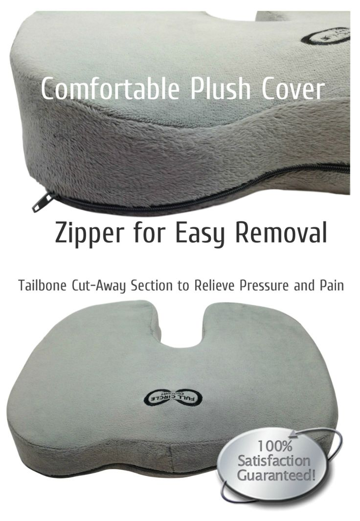 Orthopedic Memory Foam Seat Cushion with Tailbone Cut Away is great for anyone with back pain from sitting long periods of time. Great for Cars, Wheelchairs & Office Chairs.  25% off Discount Code is DSD25JAN http://www.amazon.com/Full-Circle-Comfort-Orthopedic-Hemorrhoid/dp/B00PZIGG3W/ref=sr_1_14?ie=UTF8&qid=1420061089&sr=8-14&keywords=best+quality+memory+foam+seat+cushion