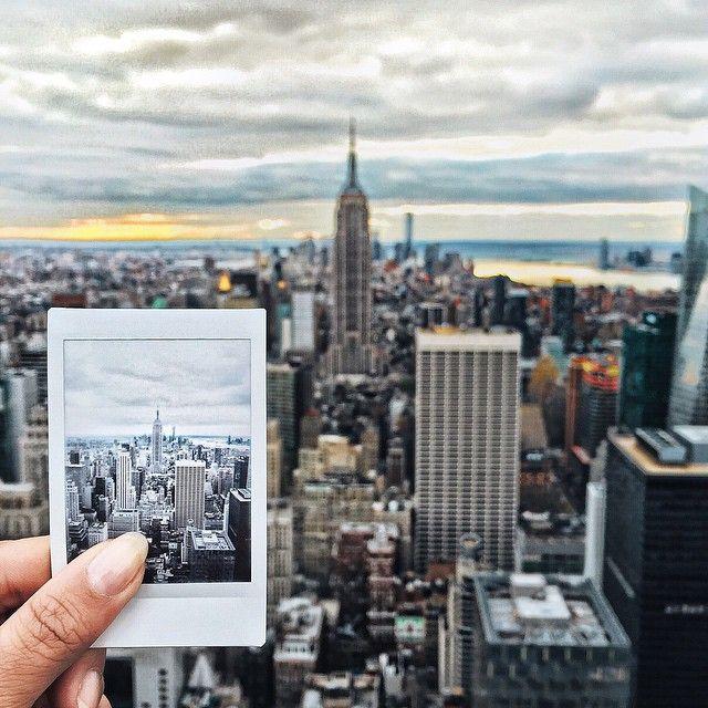 new york // wanderlust #travel tumblr hipsters aesthetics pale indie polaroid