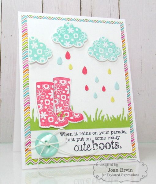 23 best cards taylored expressions images on pinterest diy cards cute boots by joan ervin homemade greeting cardsheart m4hsunfo