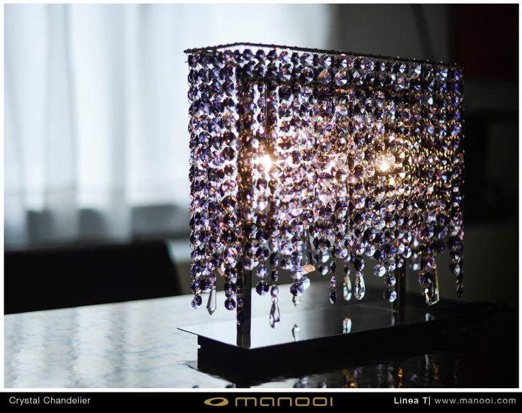 Liena T crystal chandelier #Manooi #Chandelier #CrystalChandelier #Design #Lighting #LineaTable #TableLamp #luxury #furniture