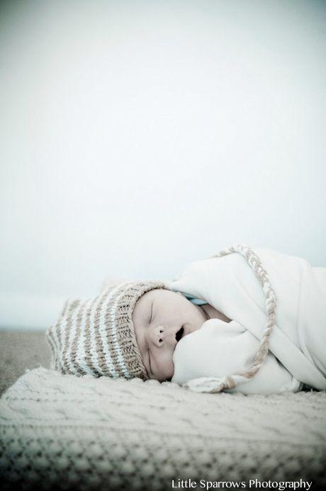 Santa Barbara New Born Shoot: Beautiful Moment with Baby Henry