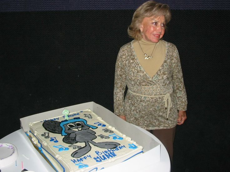 June Foray, This legendary voice actress came to prominence as the voice of Rocky the Squirrel in The Rocky and Bullwinkle Show. She was the voice of Cindy Lou Who in The Grinch Who Stole Christmas and Looney Tunes character Granny for almost 60 years at 96 years old.