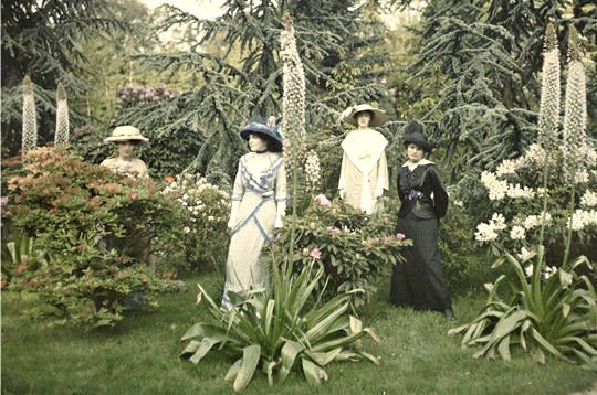 17 best images about des autochromes on pinterest for Albert kahn jardin
