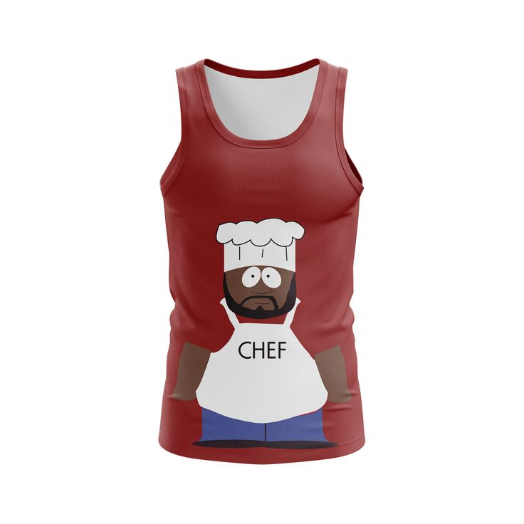 cool Boys Tank Chef CartoonsSouth Park Hero Animated  -   #Animatedcartoonsmerch #boysshirts #boystanks #cartoonsclothessouthparkmerchandise #cartoonsmerchandise #cartoonstshirts #southparkmerch #southparkshirtsmaletank #southparkt-shirt