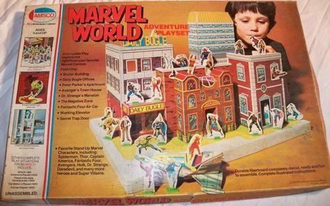 1975 MARVEL WORLD Adventure Playset