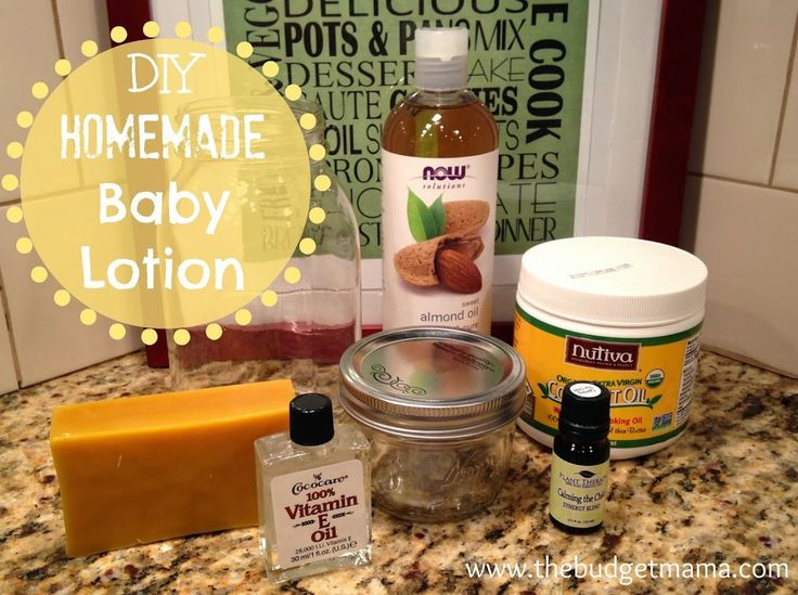 Want to get rid of the chemicals found in common baby products but don't want to spend a fortune? Try this DIY homemade baby lotion for your little one!