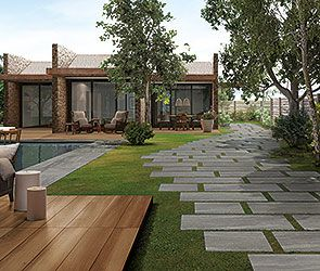 Ceramiche Caesar | AEXTRA20 Outdoor floor tiles and gardening