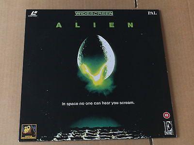 The Laserdisc for the classic, 'Alien'!