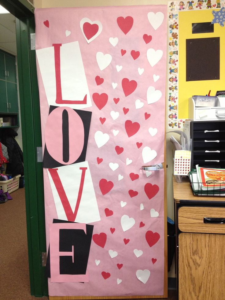 Classroom Decor For Valentines Day : Best images about door decoration on pinterest red