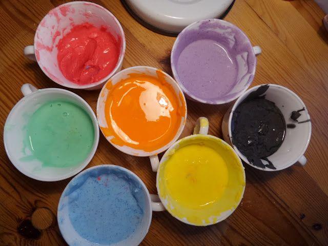Akinajka Art For Kids: Ciecz nienewtonowska lub własna kolorowa i pachnąc...