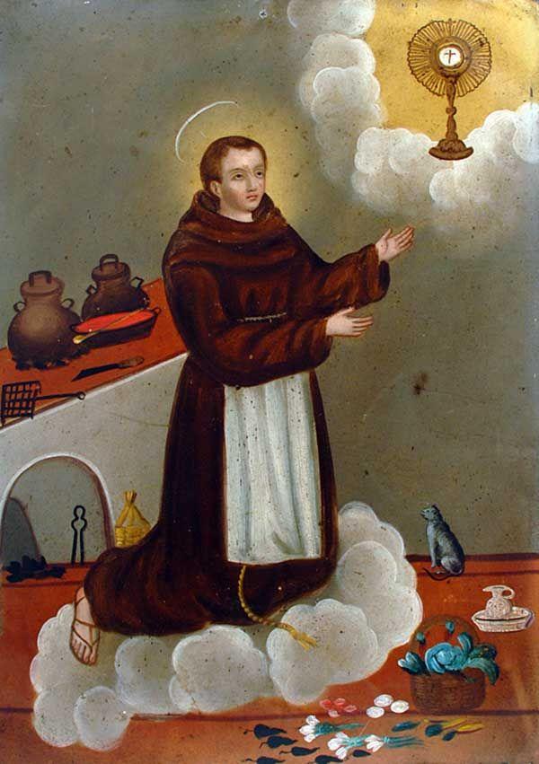 San Pasqual, patron saint of cooks and kitchens