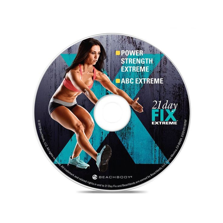 21 Day Fix EXTREME Ultimate DVD - Optimism Fitness